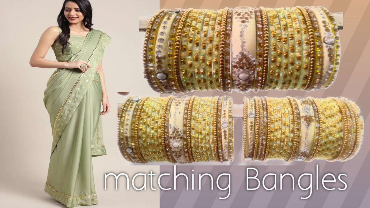 bangles For Lehenga ,Saree For Indian Wear ||Beautiful Bangels Set Design Ideas