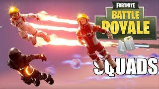 Squads with Subs - Fortnite Battle Royale Gameplay - Xbox One X - Livestream