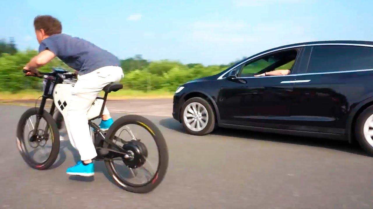 La Mejor Bicicleta Electrica Casera? (4.000$ vs 100$) | Acelera Como un Tesla