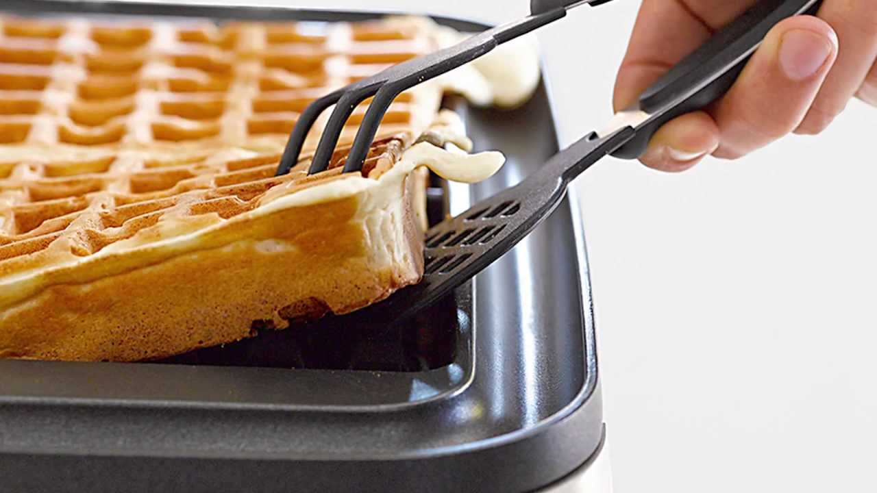 Stick On A Waffle Iron ~ Get to know the breville smart waffle maker williams