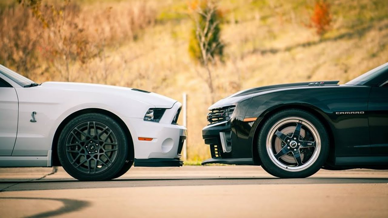 2014 Gt500 Vs 2013 Zl1 Youtube