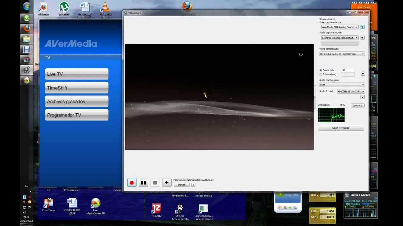TUTORIAL Capture Avermedia capture HD 1080p , HDCP Skip , PS4 and 360 and  PS3 Free