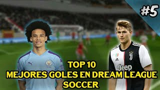 Top 10 Mejores Goles en Dream League Soccer Best Goals in Dream League Soccer 5