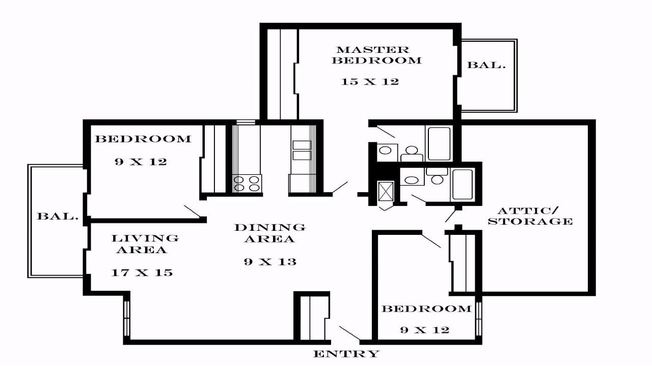 3 Bedroom House Plans Pdf (see description) - YouTube