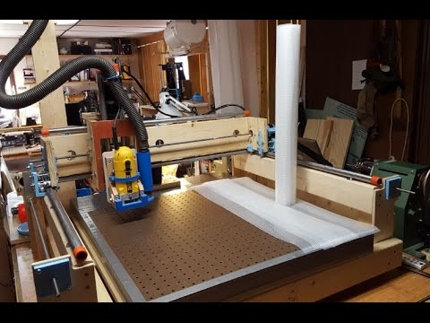 DIY CNC Vacuum Table - Solsylva CNC - Cheap and Easy!