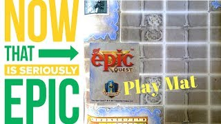 Tiny Epic Quest: Play Mat - Overview