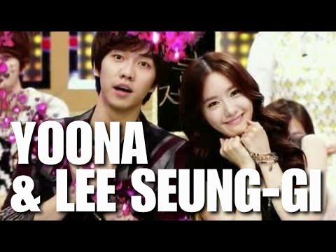 lee seung gi and yoona dating