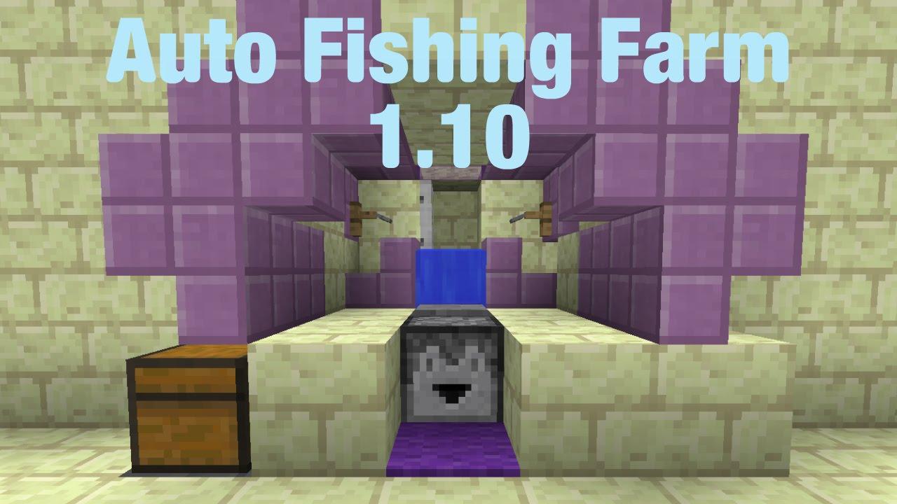 Ферма рыбы в майнкрафт фото