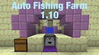 minecraft 1 9 1 10 tutorial auto afk fishing farm