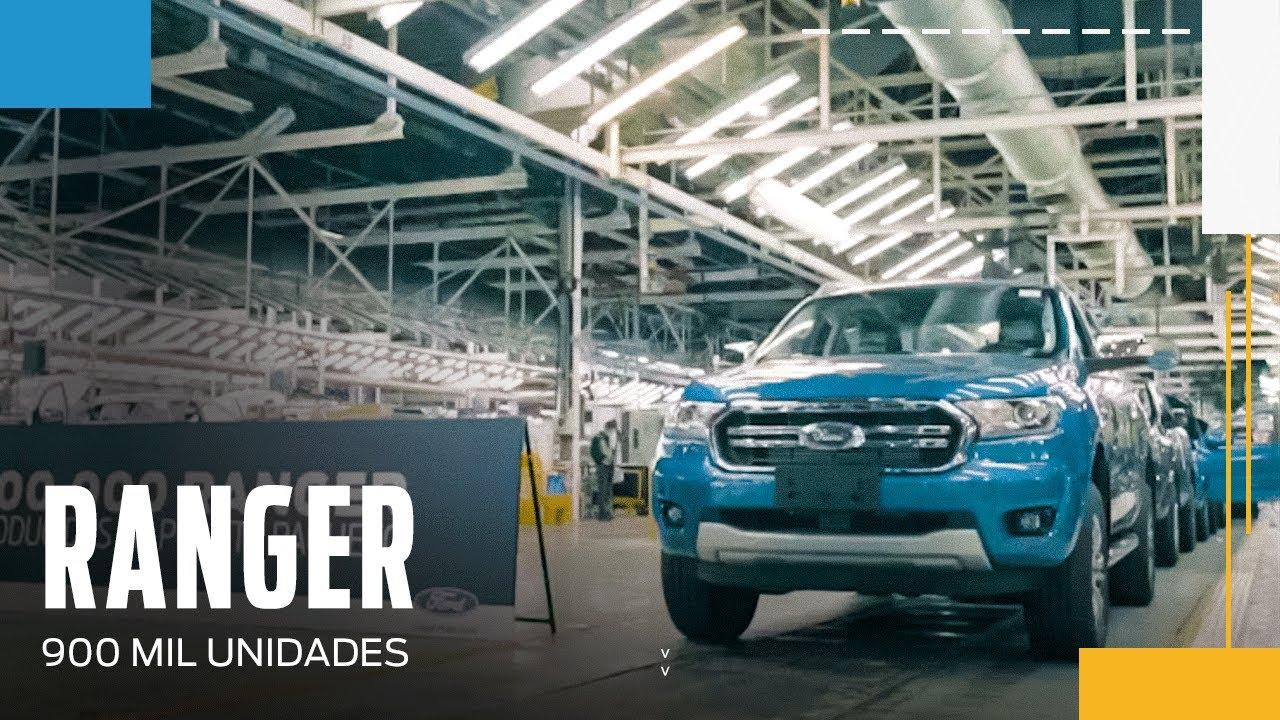 Ford celebra 900 mil unidades produzidas em Pacheco