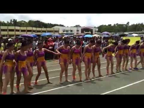 "Balcony & Tiling ""Violet Lakers"" Dance Olympics 1st Runner Up - HTI Sportsfest 2014"