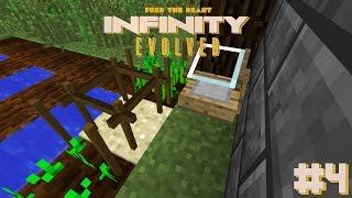FTB: Infinity Evolved #4| Metal Former and Basic Agricraft! - Modded Minecraft