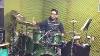 Toto - Alone (drum cover by 유한선)