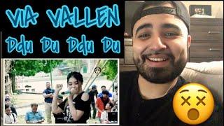 """Download lagu Reacting to Via Vallen  """" Ddu Du Ddu Du """" Cover Black Pink"""