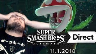 Super Smash Bros Ultimate Final Direct Live Reaction (11.1.2018)