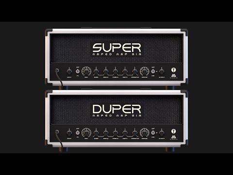 Amped Super Duper | Handcrafted Modern UK Guitar Tones