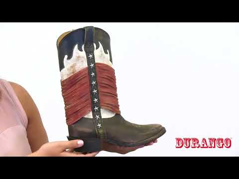 Produktvideo Durango Boots DRD0212 DREAM CATCHER Americana Wrapped Fringe [HD]