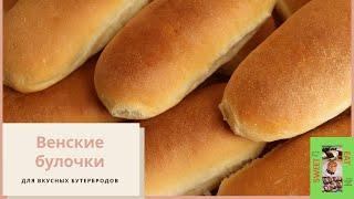 Вода мука и дрожжи Самые вкусные венские булочки вместо хлеба и для бутербродов