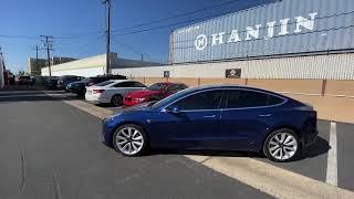 Tesla Model 3 tinted in Ceramic Film (OC TINT SOLUTIONS)