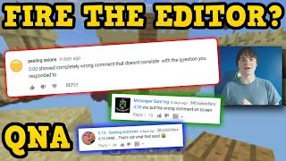 Minecraft Console WHERE IS AQUATIC? & Firing The Editor
