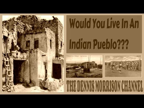 WOULD YOU LIVE IN A NATIVE AMERICAN INDIAN PUEBLO?