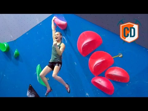 Janja Garnbret Wins Her First Bouldering World Cup | Climbing Daily Ep.918
