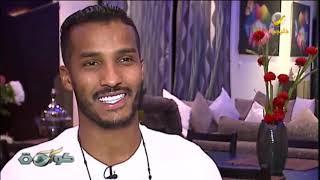 نايف هزازي لقاء مع لاعب المنتخب السعودي