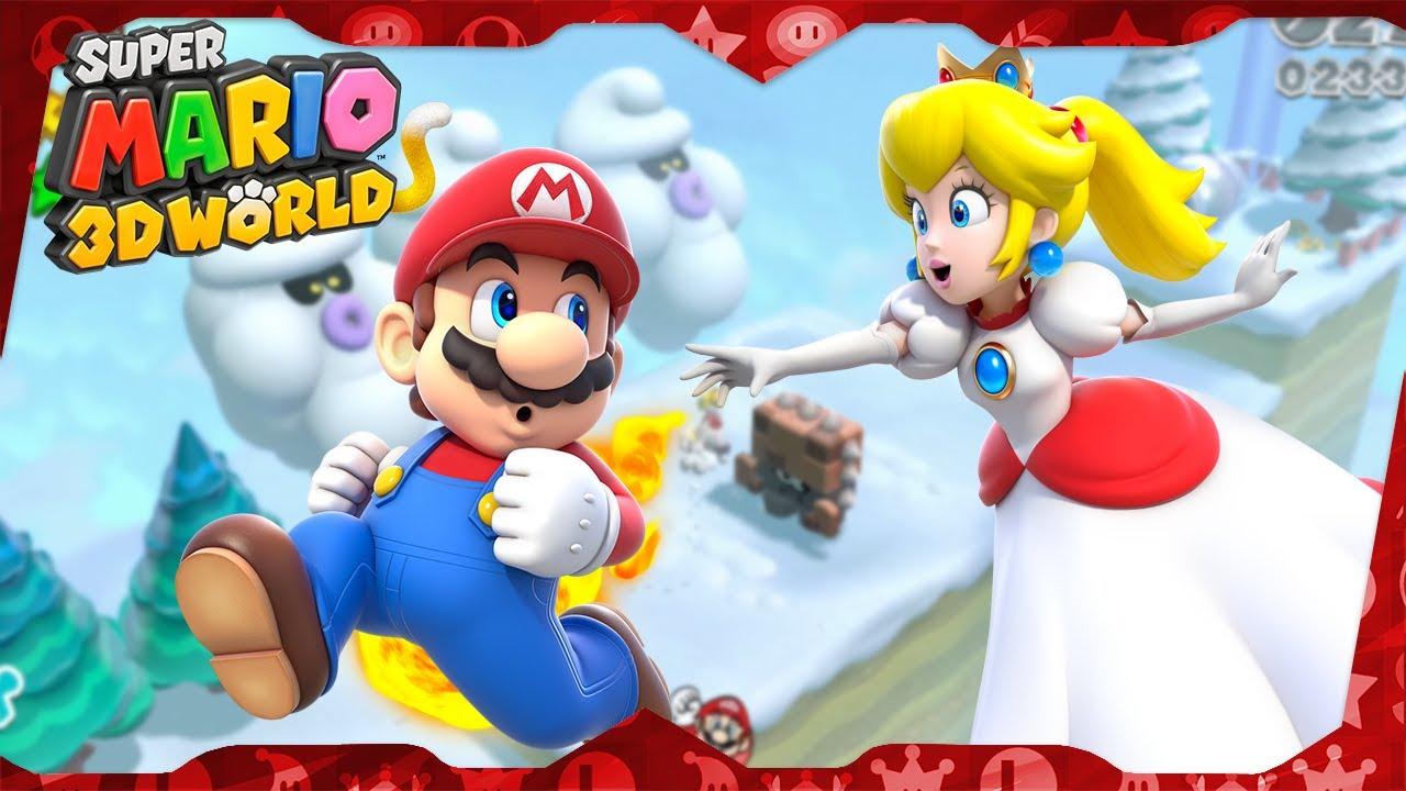 Super Mario 3D World Walkthrough ᴴᴰ | World 6 (All Green ...