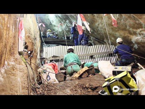 VÍDEO: Una colonia de murciélagos obstaculiza las obras de la nueva cubierta de la Cueva del Ángel