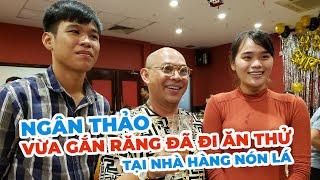 """Thánh Sún Ngân Thảo đột nhập Nón Lá để thử """"máy nhai"""" mới của Ngô Kiến Huy"""