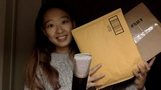 ASMR Amazon Haul ft. Packaging sounds, and jelly bean eating!