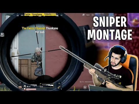 SNIPER LOVERS AND SOME RUSH GAMEPLAY HIGHLIGHTS   PUBG MOBILE