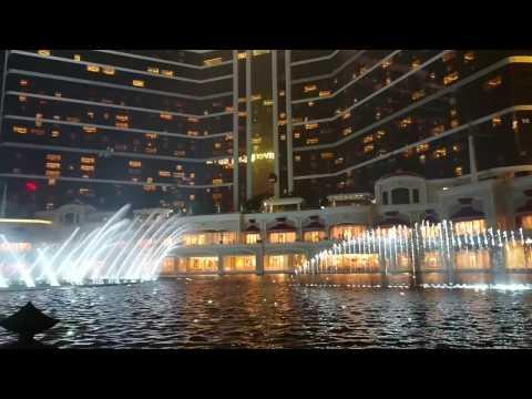 SONY XZ 手持拍攝 永利皇宮水舞 鐵達尼號  Macau 2016.12.5