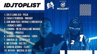 LUNA JE SKINULA OVE DVE PEVACICE SA TRONA | IDJTOPLIST powered by MOZZART S02 E94 | 16.01.2020