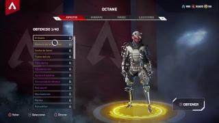 JUGANDO CON OCTANE *NUEVO PERSONAJE* Pase de batalla, Season 1, Apex Legends