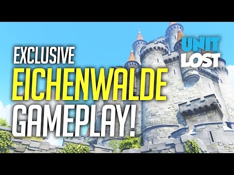 NEW OVERWATCH MAP!!! Eichenwalde Exclusive Gameplay!