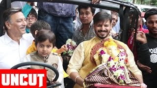 Vivek Oberoi And Family Ganpati Visarjan  2016 - UNCUT Video