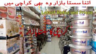 Wholesale Cheapest Bartan Market In Karachi   Cheap Crockery Stainless Steel   Hajos Kitchen