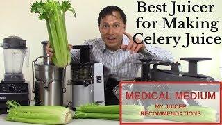 أفضل عصارة لجعل عصير الكرفس الطبية متوسطة عصير