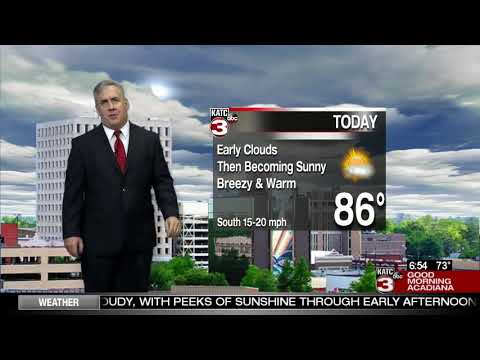Dave's Friday weathercast