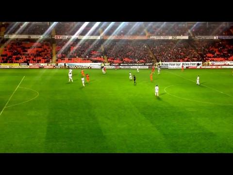 Dundee United v Morton Scottish premiership playoff second leg