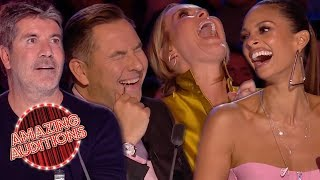 Britain's Got Talent 2019 - Funniest / Weirdest / Outrageous Auditions - Part 1