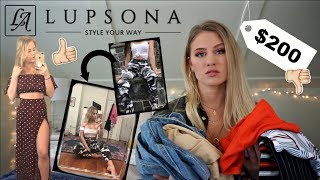$200 Lupsona Try-On Clothing Haul // Success or Scam??
