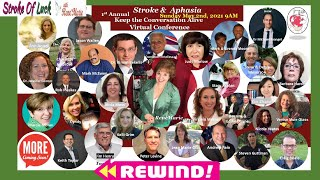 SPECIAL BROADCAST - Keep the ( Strokes and Aphasia) Conversation Alive & Virtual Panel Discussion