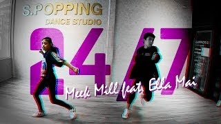 Meek Mill - 24/7 feat. Ella Mai [Dance Class] @ S. Popping Dance Studio | Tunie Channel