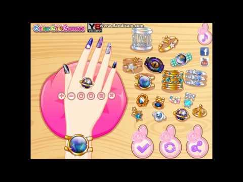 Y8 Games Galaxy Nail Art Designs Amy