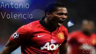 Antonio Valencia ► Skills, Runs, Assist & Goals - Manchester United 2009 - 2015 | HD