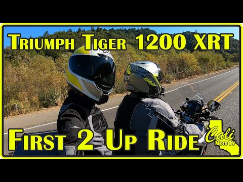 First 2 Up Ride on OUR Triumph Tiger 1200 XRT