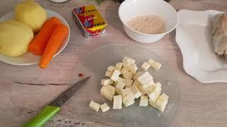 Сырный суп/ Очень вкусный и нежный/ Простые рецепты/Чем я кормлю свою семью/ Готовим просто