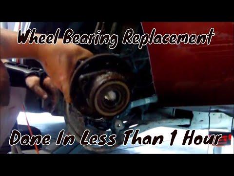 Ford Taurus Wheel bearing replacement DIY